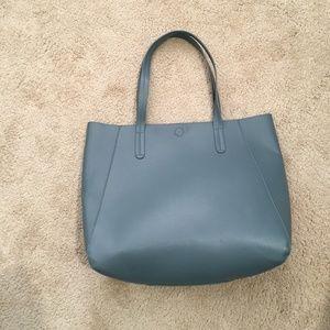 Baby Blue Gray  tote bag